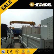 China SQ5ZK2Q 5 ton, mini caminhão pequeno guindaste montado