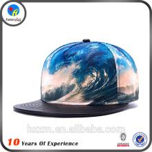 Chapeaux de snapback imprimés de nouvelle conception de haute qualité