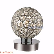 Zeitgenössische billige Glas Tischlampe Kristall Schreibtischlampe 12222