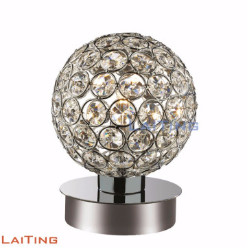 Contemporary cheap goble table lamp crystal desk lamp 12222