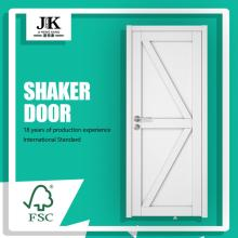 JHK-SK09 Wood Distributors Used Solid Wood Interior Sliding Shaker Door