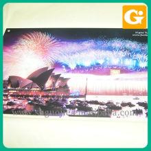 cartes d'affichage de photo décoratives d'impression de Digital faites sur commande pour des bureaux