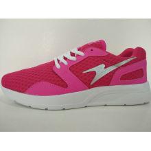 Rose Red Mesh Light Casual Schuhe für Ladis
