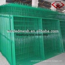 Anping de clôture en clôture recouverte de PVC de bonne qualité / 3 clôtures D / treillis métallique / clôture en maille (certificat SGS et ISO9001)