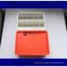 Caixa de Organizador de Injeção Plástica com Moldagem de Tampa