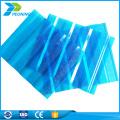 La venta caliente personalizó las hojas de policarbonato para la hoja plástica de la construcción