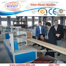 PVC/PP/PE WPC Plate/Board/Profile Making Machine