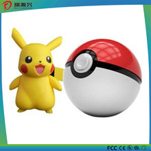 2016 Hot selling 10000mAh Pokemon Power Bank Compatible with All mobile devices