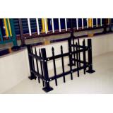 Powder coated galvanizing air conditioner rack
