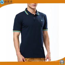 En gros Hommes Stretch Polo Shirts Coton Plain Polo Shirts
