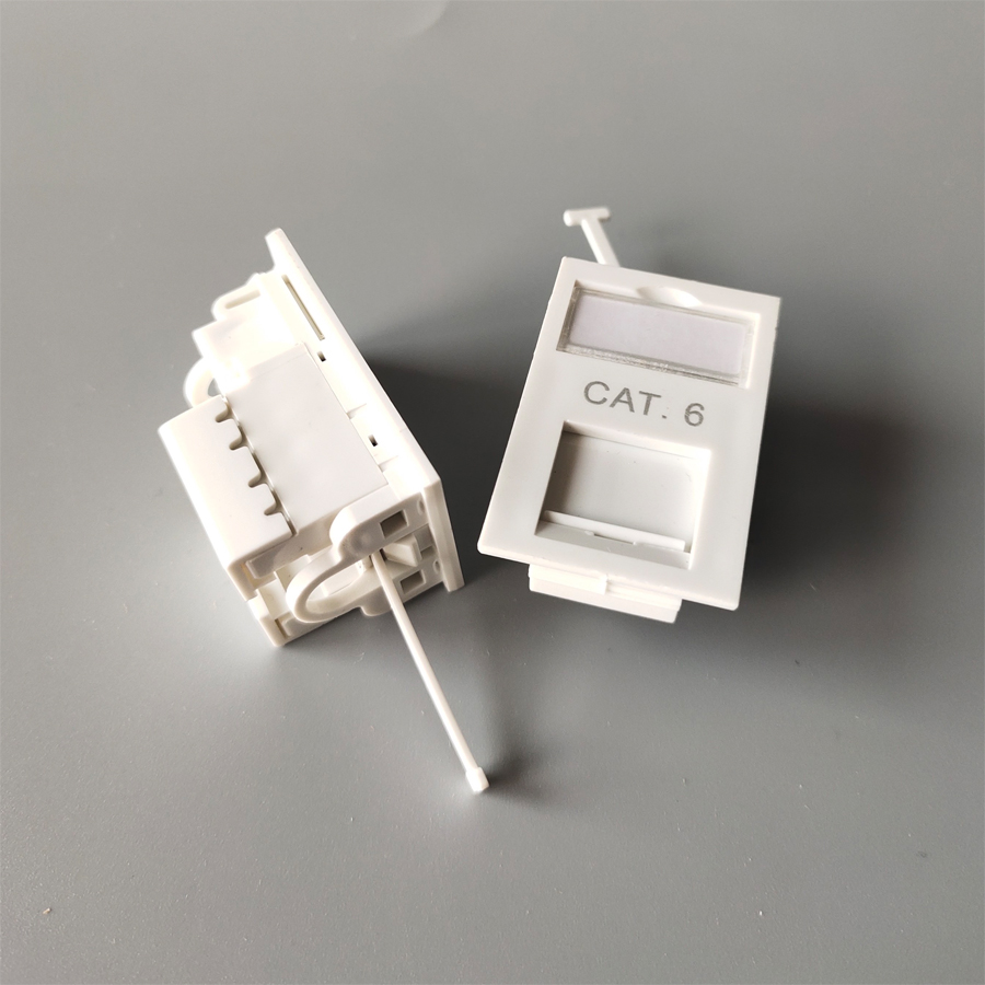CAT6 UTP Module UK socket Type face plate