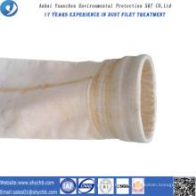 Nonwoven Nadel gelocht Filter Wasser und Öl abweisend PPS und P84 Zusammensetzung Staub Filterbeutel für Industrie
