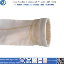 A fábrica fornece diretamente o saco de filtro da poeira da composição PPS e P84 para a indústria da metalurgia com amostra grátis