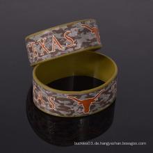Fabrik freie Probe Tarnung Silikon Armband kein moq benutzerdefinierte Silikon Armband