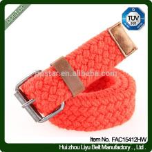 Fashion Casual Canvas Belts Strong Buckle Unisexe Ceinture en tissu de haute qualité