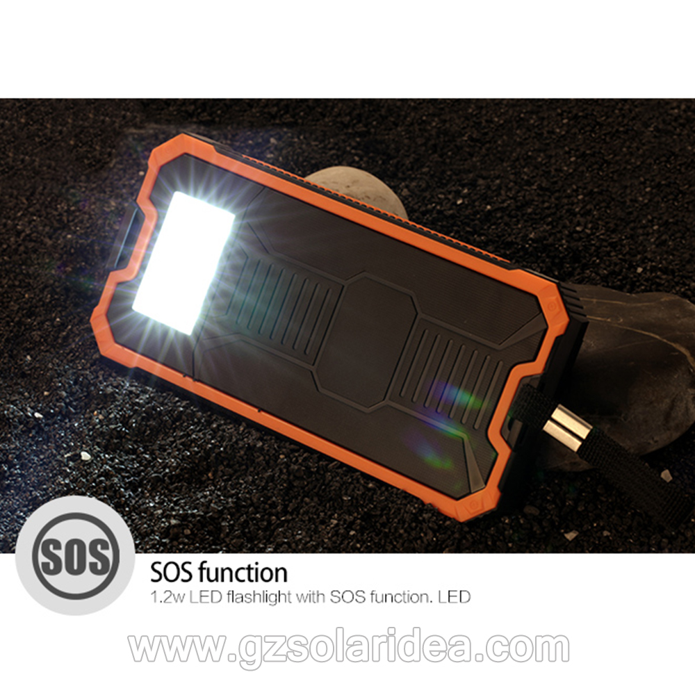 solar cell phone battery charger