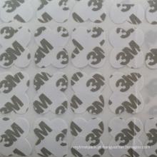 Etiquetas feitas sob encomenda cortadas da impressão do logotipo de 3m / etiqueta da parede / etiqueta do papel