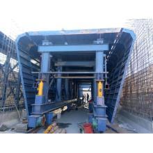 Fôrma de galeria de tubos simples para construção de concreto
