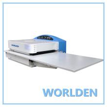 WD-450CS máquina de fusión para la vinculación de frente a la industria de la ropa.