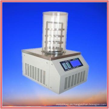 Secador de congelación al vacío de laboratorio para investigación de laboratorio