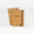 Custom Logo Eco-friendly Cork Wood Cover Notebook