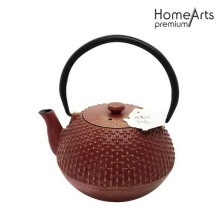 Cross stars cast iron teapot tetsubin