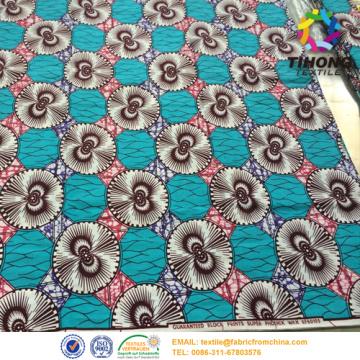 Afrikaanse Wax vrouwen kleding Fabric