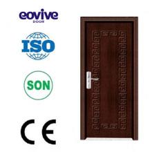 Hoja de PVC de alta calidad Eovive puerta por puerta del baño
