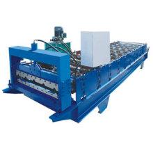 Máquina formadora de rolo de aço colorido para painel de parede