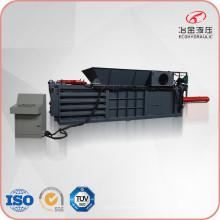 Compacteur hydraulique de paille en plastique de carton de papier de rebut