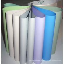 Цветные ПВХ-ткани с окнами из стекловолокна