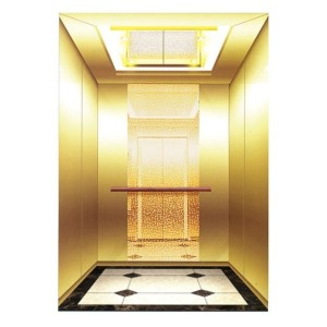 Mirror Etching Luxury Passenger Elevator