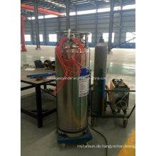 175L - 210L Dpl Kryogene Schweißen Preis Flüssigkeit Sauerstoff Dewar Zylinder