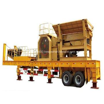 Quarry Crusher Plant Machinery Portable Jaw Crusher