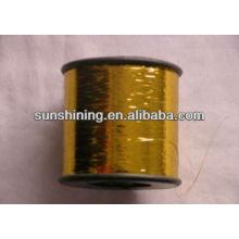 Hilo metálico del ployester del hilado elástico del tipo MH