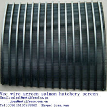 Stainless steel Johnson screen salmon hatchery screen