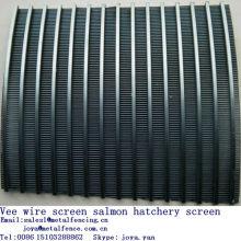 Stainless steel Johnson screen salmon hatchery screen