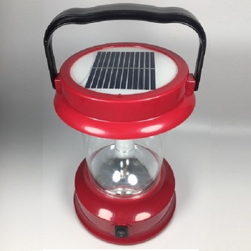 6W Outdoor Emergency Portable LED Lanterne solaire pour camping