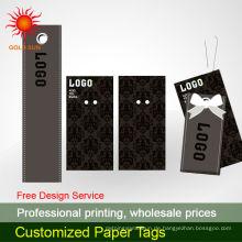 Kraftpapier-Hängeetikett mit Öse