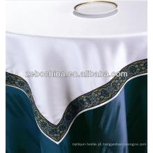 Design de moda fábrica direta feita por atacado hotel bordados toalha de mesa
