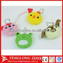 Wholesale various animal shapes cute plush measuring tape