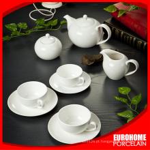 jogo de chá de café porcelana boa qualidade estoque por atacado de china
