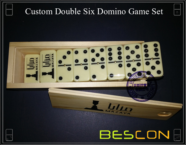 Custom Double Six Domino Game Set-3