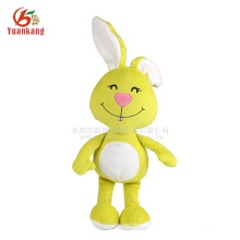 Long Ears Stuffed Plush Rabbit Toy with Smile Face