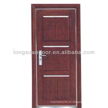 Madera moderna BS (EN) fuego nominal diseños de puertas, puertas de madera ignífuga puertas
