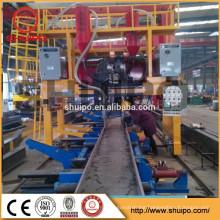 longitudinal I beam submerged arc I beam double wire welding machine