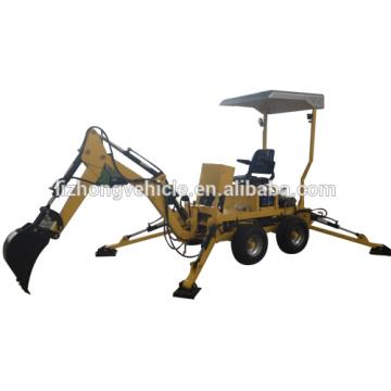 Cargadoras retroexcavadoras venta por mayor de China, excavar retroexcavadora del tractor,
