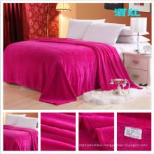 EXW Price for Flannel Fleece Blanket