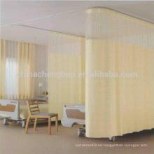 Cortina desechable del cubículo del hospital de calidad superior