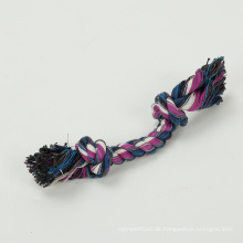 Haustier-Hundebaumwollseil-natürliche Baumwolle geknotete sichere gesunde Zähne kauen das Spielzeug, das für Hund eingestellt wird